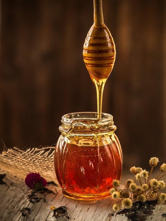 Honig fließend